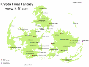 Mapa Final Fantasy 7.Mapy Final Fantasy Vii Krypta Final Fantasy